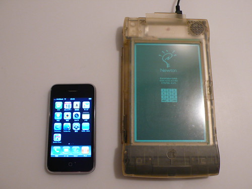iPhone & Newton MP2100