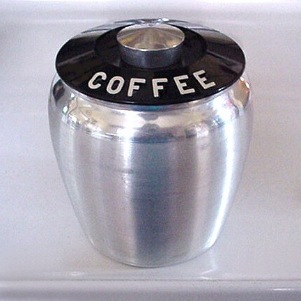 Coffee Canister, by EraPhernalia