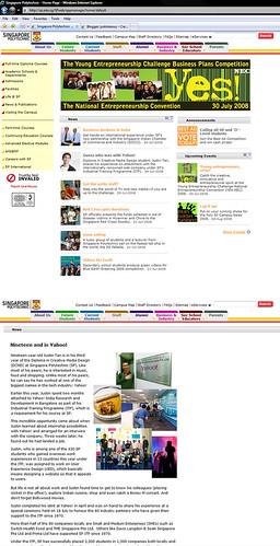 Yahoo! India ITP feature