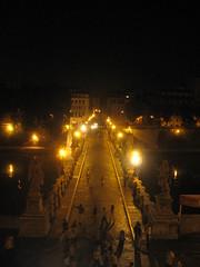 (_archi.la_) Tags: italy panorama rome roma architecture night italia fiume ponte tevere lungotevere luci notte architettura illuminazione architetture pontesantangelo estateromana