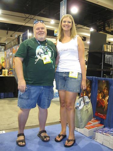 Mel Odom and I