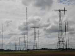 Grimeton VLF transmitter (individual8) Tags: sky cloud clouds sweden july 2008 antennas transmitter vlf dopplr:explore=vl51