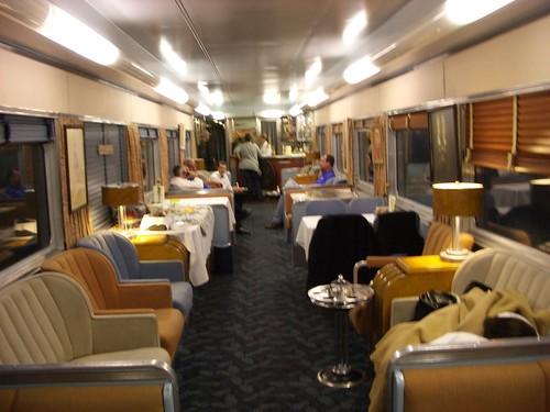 Train Chartering - Private rail car Overland Trail used  for The City of Ember