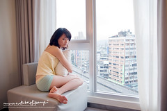 Yuchan (AehoHikaruki) Tags: life light portrait people cute girl beautiful fashion asian hotel photo nice interesting asia photos sweet album great chinese taiwan olympus lazy taipei lovely  e1