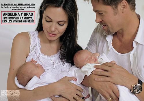 Angelina Jolie Twins Pics. Angelina Jolie ,kids and twins