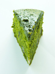 Matcha and adzuki red bean cake (andrea ) Tags: from red cake japan bean best nagoya matcha ever adzuki tiffin ptisserie
