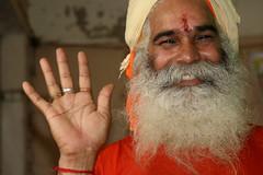 Holy man in New Delhi (martien van asseldonk) Tags: india shiva pelgrimage multimegashot martienvanasseldonk