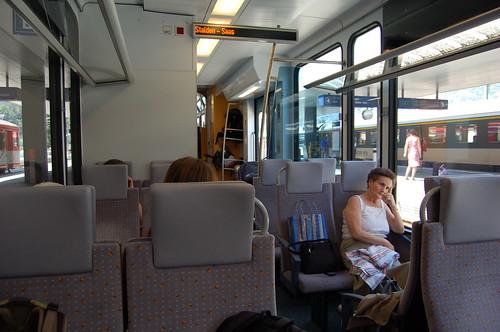 VispからZermattへの電車