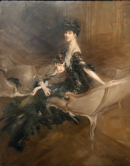 Consuelo Vanderbilt (18761964), Duchess of Marlborough, and Her Son, Lord Ivor Spencer-Churchill (18981956) (Maulleigh) Tags: new york city art museum vanderbilt met marlborough metropolitan metropolitanmuseum consuelo giovanni duchess boldini