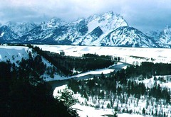 Snake River and Tetons in Winter (Paul's Real Images) Tags: snakeriver tetons grandtetonnationalpark