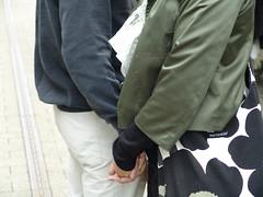 Hold my hand (osto) Tags: people woman man geotagged denmark europa europe sony ole cybershot zealand tina scandinavia danmark dscf828 sjlland  osto august2008 osto