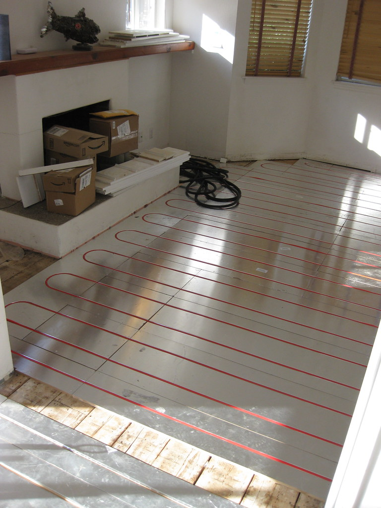 Living Room Radiant Floor