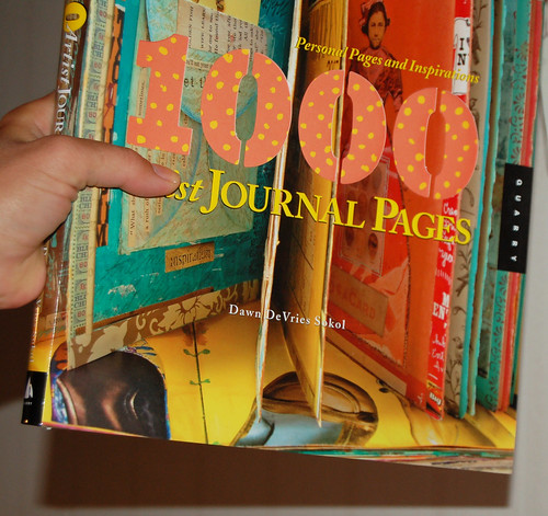 1000 artist journal pages by Dawn DeVries Sokol featuring iHanna and many others #artjournaling #musthave