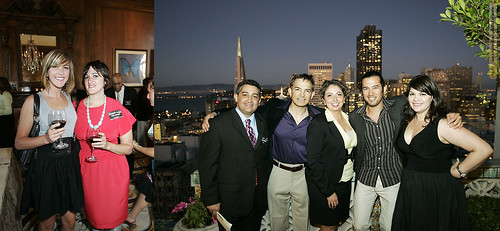 Stars of San Francisco Muscular Dystrophy benefit @ the Fairmont Penthouse by orange photography