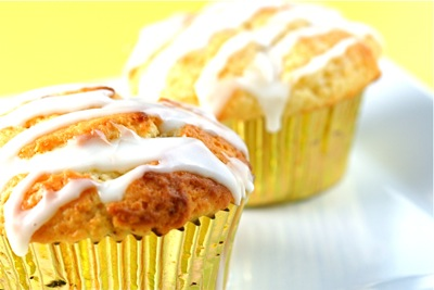 lemon (non-poppy) muffins