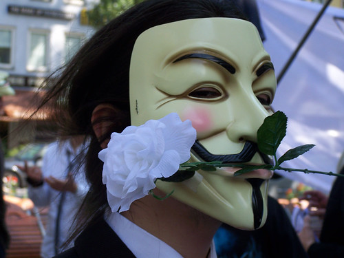 Anonymous Operation Party Hard 2 on August 16 in Munich, Germany