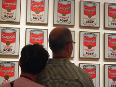 Couple and Warhol