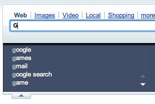 google on Yahoo