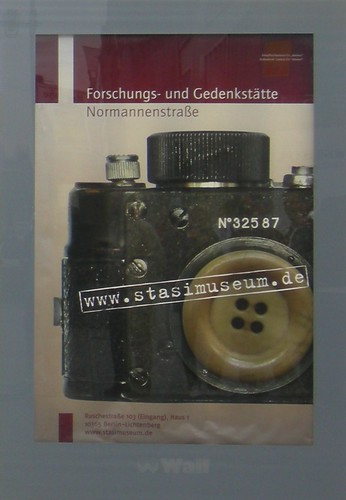Stasi Museum poster