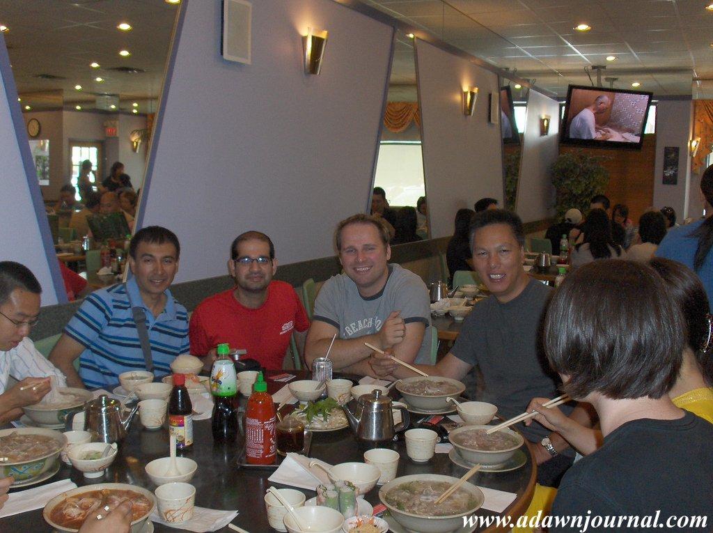 With John Chow at Dot Com Pho Toronto