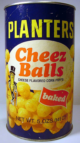 "If you Google ""Planters Cheese Balls"" the first link is a petition to bring"