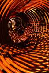 Twist (hapal) Tags: red abstract night canon eos shadows iran creativecommons iranian curve  twisted    palyground meanders 40d    colourartaward artlegacy hapal hamidnajafi
