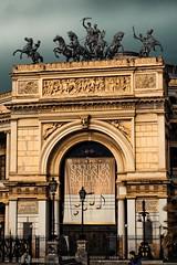 Ingresso Teatro Politeama (Salvatore Grigoli) Tags: teatro piazza palermo statua castelnuovo politeama ruggero chiosco settimo ribaudo regionalgeographicsicilia