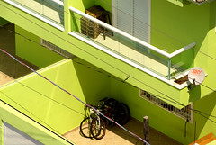 (Rafael Coelho Salles) Tags: brazil building verde green praia beach brasil photographer professional sp lime litoral bicicletas professionalphotographer fotografo predio limo profissional rscsales litoralsul fotografoprofissional rscsalles rscsallescom cidadeocian