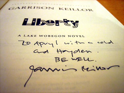 Keillor signature