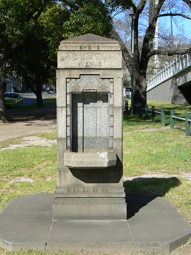 Drinking Fountain, Brunton Avenue