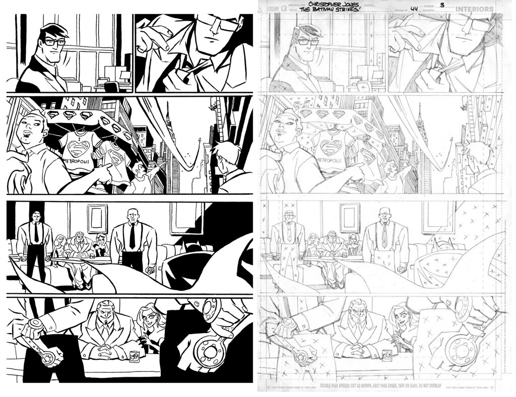 Inks over Christopher Jones pencils 1