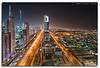 The Veins Of Dubai #3 (DanielKHC) Tags: longexposure roof night digital interestingness high nikon dubai cityscape dynamic top uae explore sheraton range fp frontpage dri increase hdr futuristic blending sheikhzayedroad d300 dynamicrangeincrease burjdubai blueribbonwinner interestingness21 7exp annpar danielcheong danielkhc explorefp tokina1116mmf28 explore25sep08 gettyimagesmeandafrica1