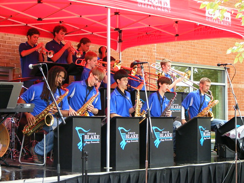 Blake Jazz Band Close Up