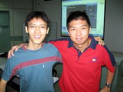 Cheng Kiat & me