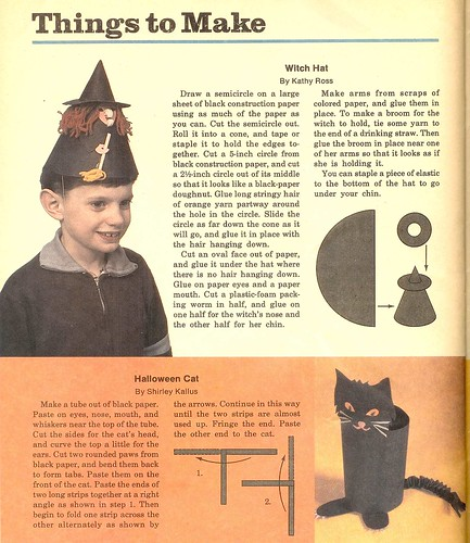 Highlights Oct 1984 Things to Make 1 (by senses working overtime)