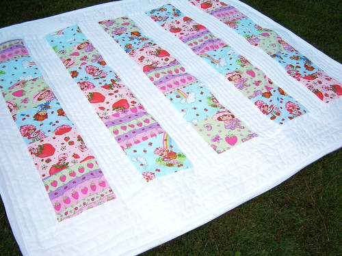 Strawberry Shortcake Baby Quilt