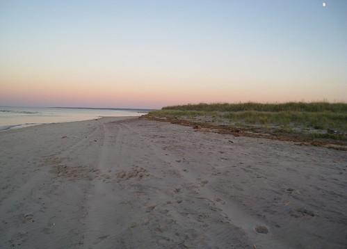Sunset at Crane's Beach