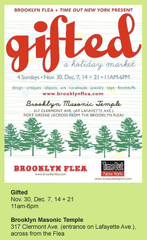Brooklyn Flea: Gifted holiday market