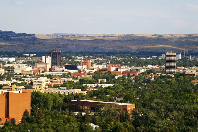 Downtown Billings, Montana, by Ron Reiring