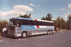 Greyhound (Den Batter) Tags: greyhound minoltax700 motorcoach mci mc9