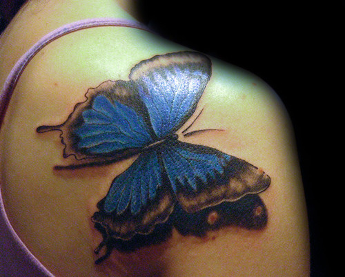 tattoo mariposas. Tatuaje Mariposa Pupa Tattoo