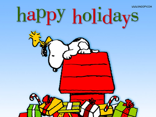 Snoopy - Happy Holidays