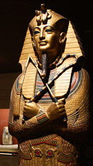 King Tut Replica at Rosicrucian Egyptian Museum