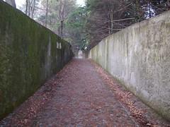 corridoio attraverso cui si accede all'eremo (Galzignano Terme, Veneto, Italy) Photo