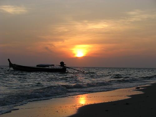 Sunrise at Lao Liang