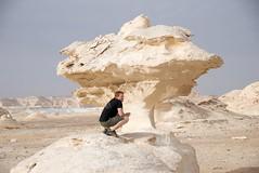 Egypt 2008  1735 - Version 2 (wongkak) Tags: africa city travel friends sky people sahara nature rock landscapes day desert time year egypt oasis 2008 chrisking whitedesert farafra photospecs stockcategories