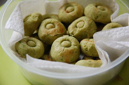 green pea cookies - Chinese New Year