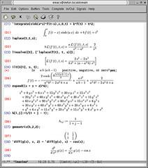 Editörünüzden çıkmadan Maxima ile matematik işlemleri yapabilirsiniz.