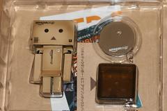 What's in the Box (katsuboy) Tags: macro cute japan toys japanese robot cool manga cardboard tiny kawaii figures cardboardbox kaiyodo miura yotsubato yotsuba danbo revoltech bfigure koiwaiyotsuba danboard danbomini minidanboard