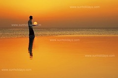 "A big ""Thank You"" (muha...) Tags: travel sunset summer orange sun reflection pool beautiful silhouette loving season island happy nikon flickr paradise nikond70 unique magic resort swimmingpool beginning thoughts wishes tray 2009 serving 1870mm swiming muha muhaphotos endof2008 iwishyouallamagical2009"